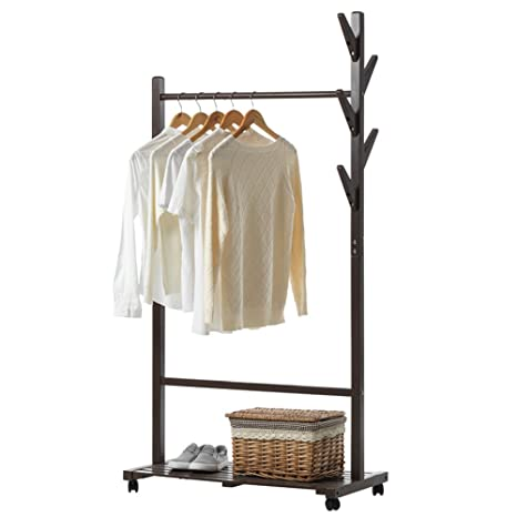 Amazon.com: XF Coat Racks Coat Rack - Solid Wood Branch ...