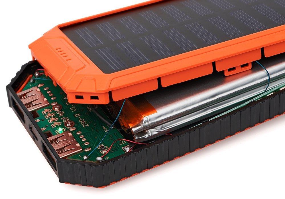 Amazon.com: Batería portátil de 10000 mAh, cargador de ...