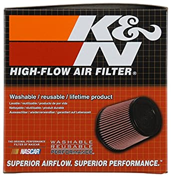 65MM H Universal Air Filters 174MM BOD X 148.5MM TOD RC-5049 K/&N Universal Clamp-On Air Filter 63MM FLG ID
