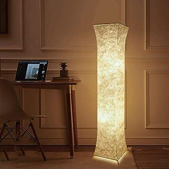 Fy-Light Lámpara de pie, 132 Lámparas de pie modernas de tela para sala