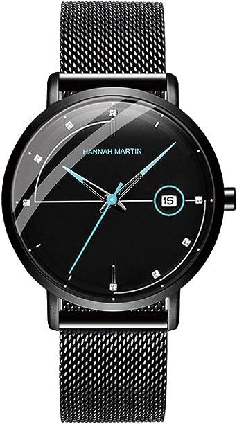 Hannah Martin Relojes para Hombre Reloj Deportivo de Cuarzo ...