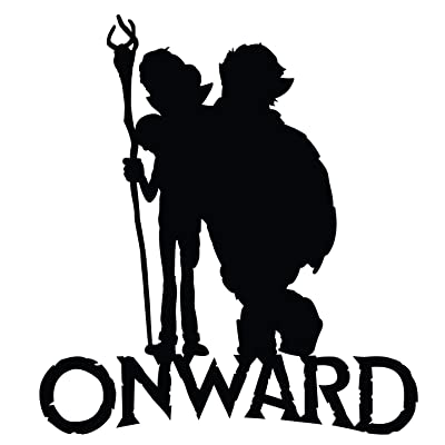 """Onward Movie Characters Wall Art Decal 