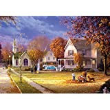 Buffalo Games Days to Remember Street of Memories, 500-Piece Jigsaw Puzzle