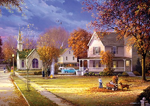 Buffalo Games Days to Remember: Street of Memories - 500 Piece Jigsaw Puzzle by Buffalo Games - Adult Puzzles 500 Pieces