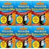 6 x Wardrobe Dehumidifier by 151 Products LTD