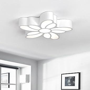 Deckenleuchten Nordic Modern Minimalistisch LED Blumenfrmig Verstellbares Leichtbgeleisen Deckenleuchte Schlafzimmer Wohnzimmer Esszimmer Kinderzimmer