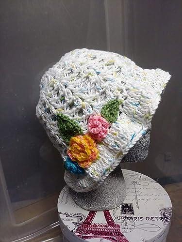 Amazoncom Easter Spring Summer Hats Crochet Cloche Hat Hand