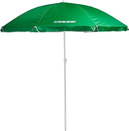10 opinioni per Cressi Ombrello da Spiaggia- Facile trasporto e montaggio- Verde