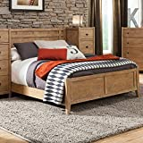 American Woodcrafters 1000-46PB Natural Elements Full Panel Bed,