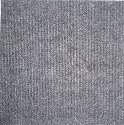 Carpet Tiles Peel and Stick Gray 12 Inch 144 Square Feet