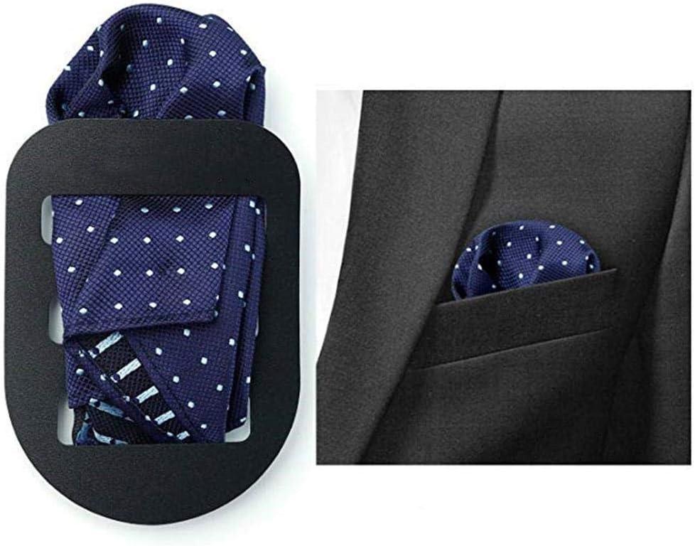 Quadratisch Und Stilvoll Mit Gefalteter Eleganz. Leicht chlius 3PCS Anzug-Taschentuchclip Anzug Taschentuch Befestigungsplatte Einstecktuchhalter F/ür Taschentuch Die Taschen Sind Leicht