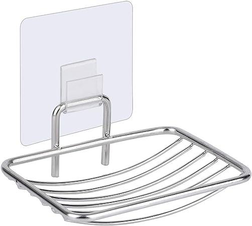 Seifenschale Seifenhalter Seifenablage Wandmontage Edelstahl Glas Badausstattung