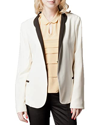 Kookai Womens Two Coloured Smoking Jacket Shell Uk 10 Amazon