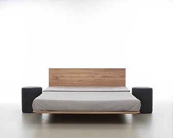 Mazzivo Nobby Hochwertiges Holz Bett Schlicht Zeitlos