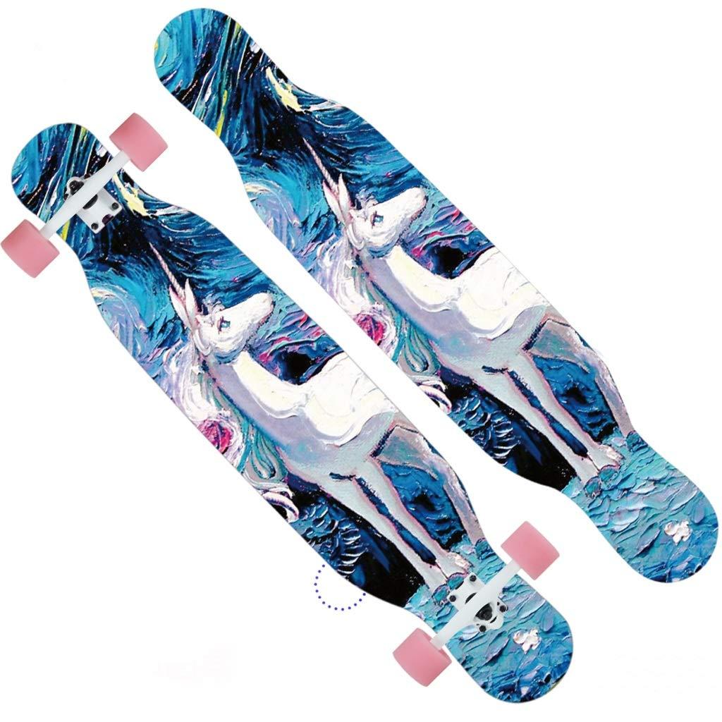 驚きの価格 DUWEN DUWEN スケートボードプロのメープルスケートボードティーン大人の男性と女性ダンスボードブラシストリート旅行初心者スクーター (色 : B) B) : B07NQ6VPZL B, cos-kingdom:640c96ec --- a0267596.xsph.ru