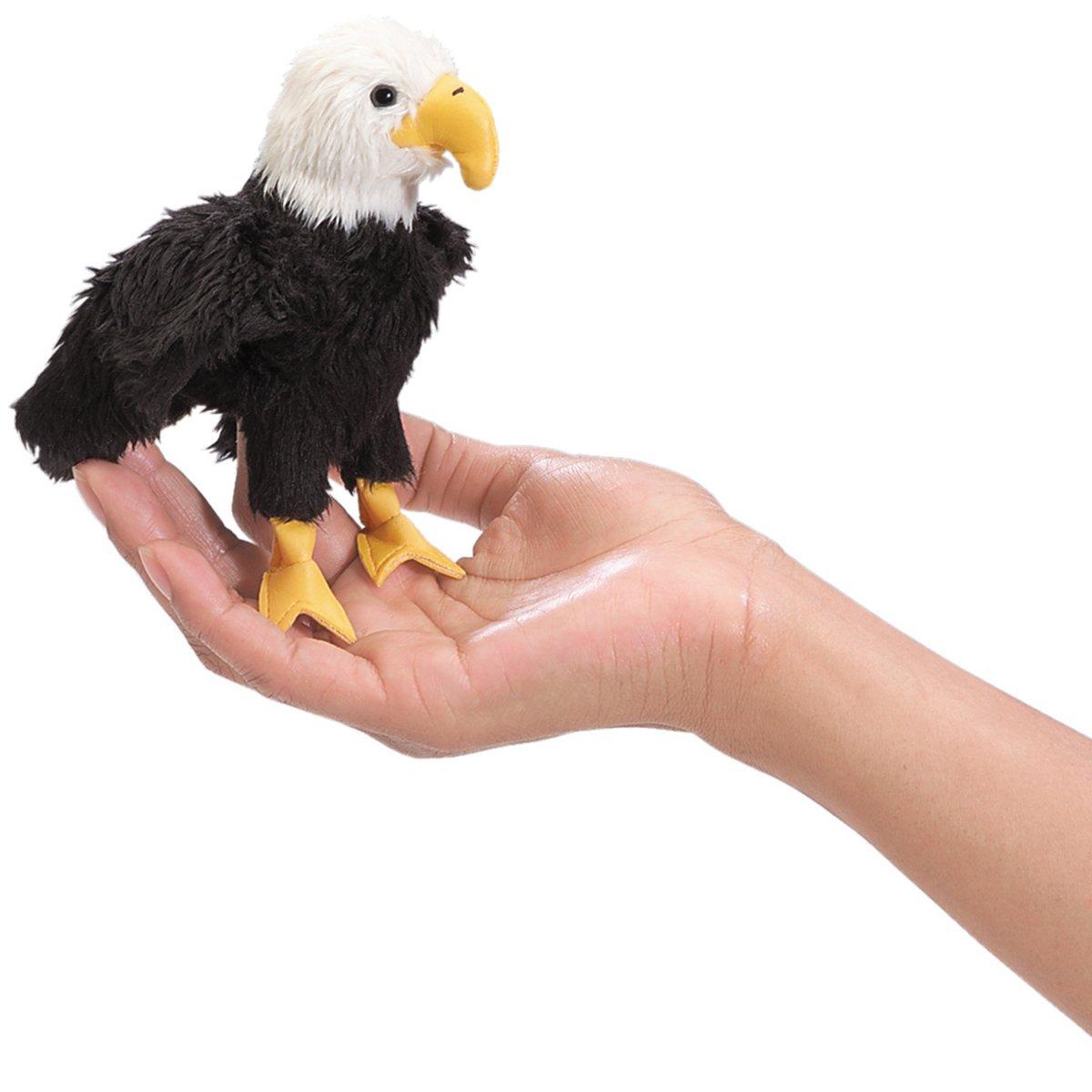 Folkmanis Mini Eagle Finger Puppet Folkmanis Puppets 2642