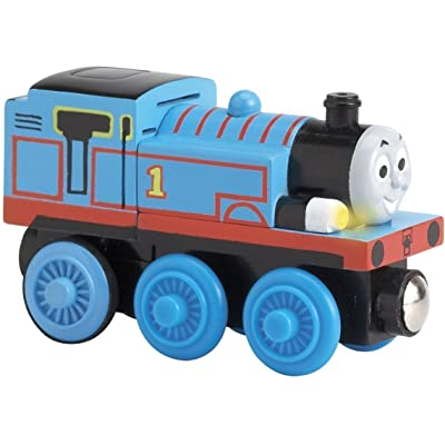 Lights and Sounds Thomas Thomas and Friends Wooden Railway Train Loose: Toys & Games
