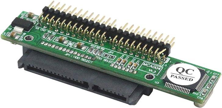 Adaptador convertidor de Disco a SATA Hembra para Ordenador port/átil y Disco Duro de 2,5 Cablecc IDE