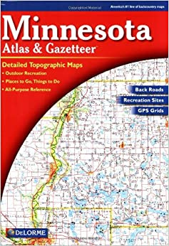 Minnesota Atlas And Gazetteer Delorme Atlas Gazetteer Delorme - Maps of minnesota
