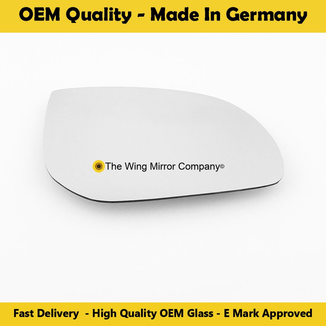 Silver Wing / Door Mirror Glass RH(Driver Side) OEM-WMC