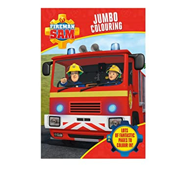 Alligator Products 3001fsjc Cbeebies Fireman Sam Jumbo Colouring
