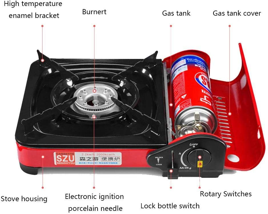 ehind Camping Gas Stove Outdoor Mini Portable Cassette ...