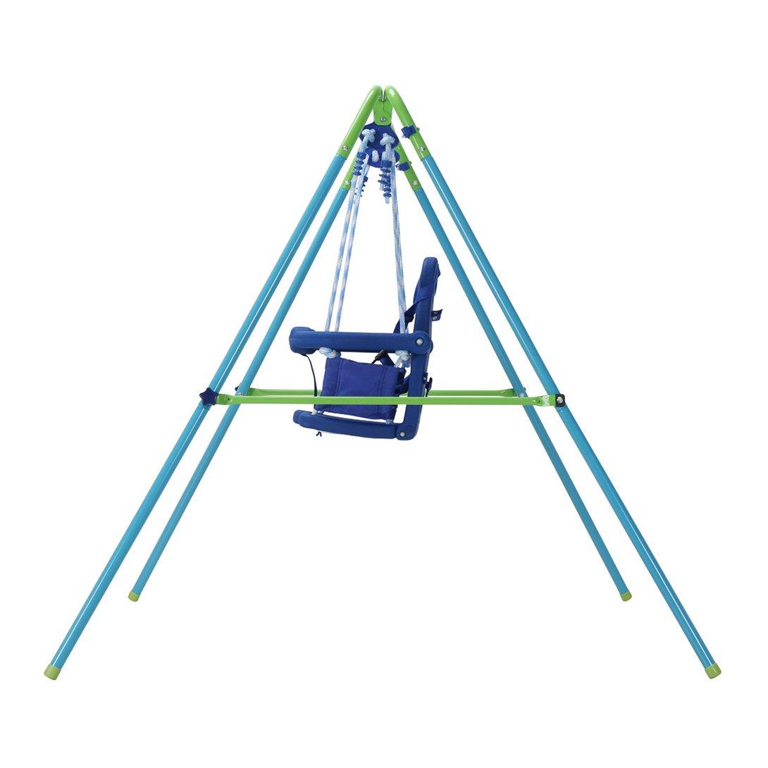 HLC Folding Toddler Swing Baby Swing /& Infant Portable Garden Swing ...