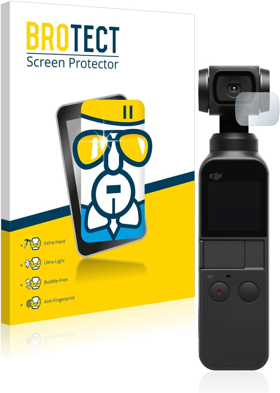 Protector Pantalla Vidrio Dureza 9H AirGlass BROTECT Protector Pantalla Cristal Compatible con dji Osmo Pocket Lente