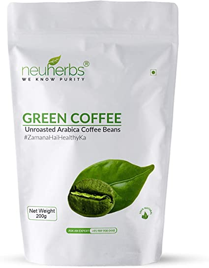 100 Organic No Side Effects Pure Green Coffee Beans For Weight