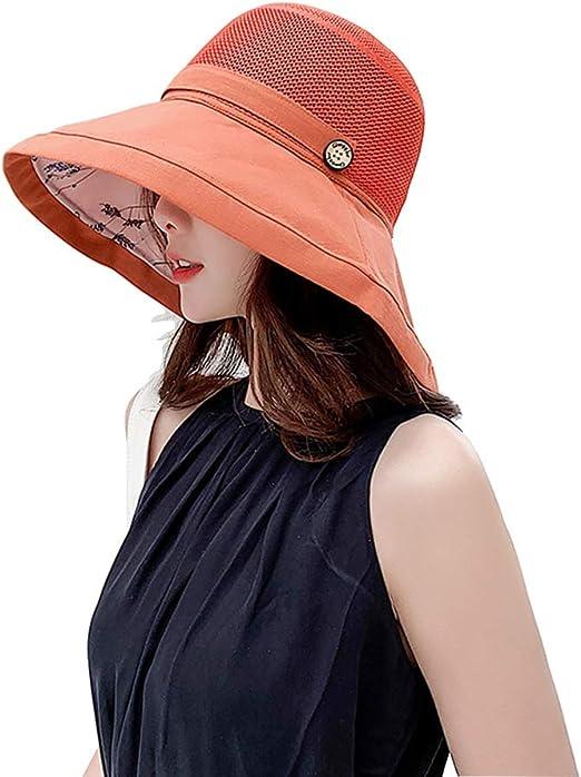 Accessories Sombrero para el Sol Plegable de Malla de Almacenamiento, Sombrero de sombrilla de Playa de protección UV para el Verano, Adecuado para Deportes al Aire Libre, Salir a Jugar: Amazon.es: Hogar