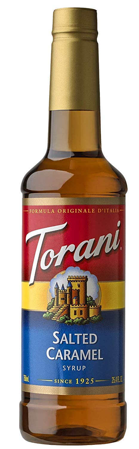 Torani Syrup, Salted Caramel, 25.4 Ounce (Pack of 1)