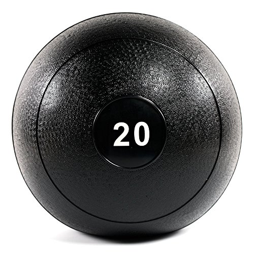 Power Systems MEGA Slam Ball for High Impact Throws and Slams, 20 Pounds, Black (25434)