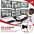 Viotek Articulating Hex 6-Monitor Stand with Adjustable Height - Monitor Arm with VESA Mount fits up to 6 screens by VIOTEK