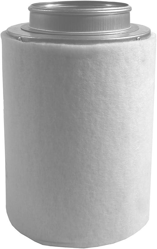 Prima Grow Filtro de carb/ón activo hasta 240 m3//h, brida de conexi/ón de 100 cm
