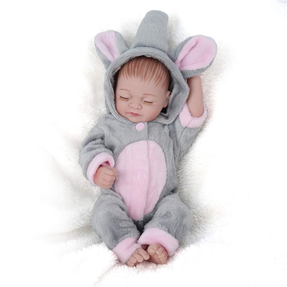 CRYPIN El bebé reborn artificial es suave y puede entrar en el agua
