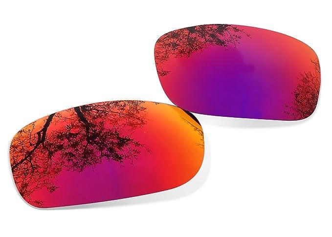 Sunglasses Restorer Lentes Polarizadas de Recambio Ruby Red para Oakley Pit Bull