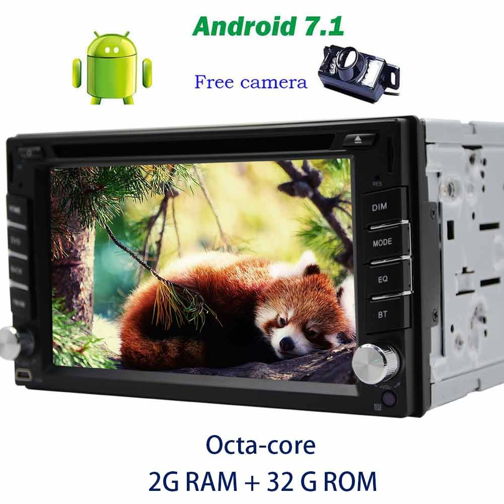 Amazon.com: Trip computer Android 7.1 car pc in Dash Double din GPS DVD  Player on-board computer for car Octa-core GPS Navigation Bluetooth Car  Radio Stereo ...