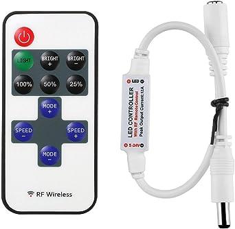 LED Stripe Controller für einfarbige Stripes mit Fernbedienung