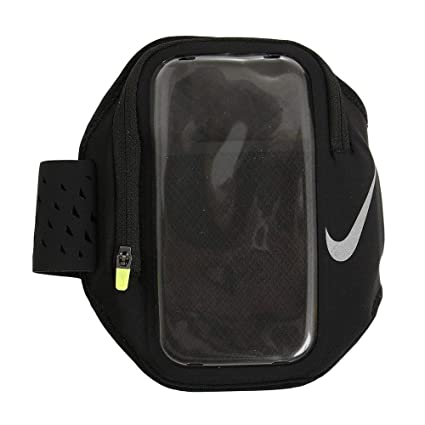 e4b3b78a03806 Amazon.com: Nike Pocket Running Armband (Black): Sports & Outdoors