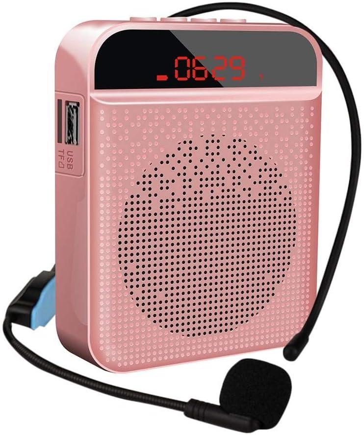 Amplificatore vocale Bluetooth Altoparlante , Altoparlante Portatile Multifunzione con Microfono Personale per insegnamento e Guida