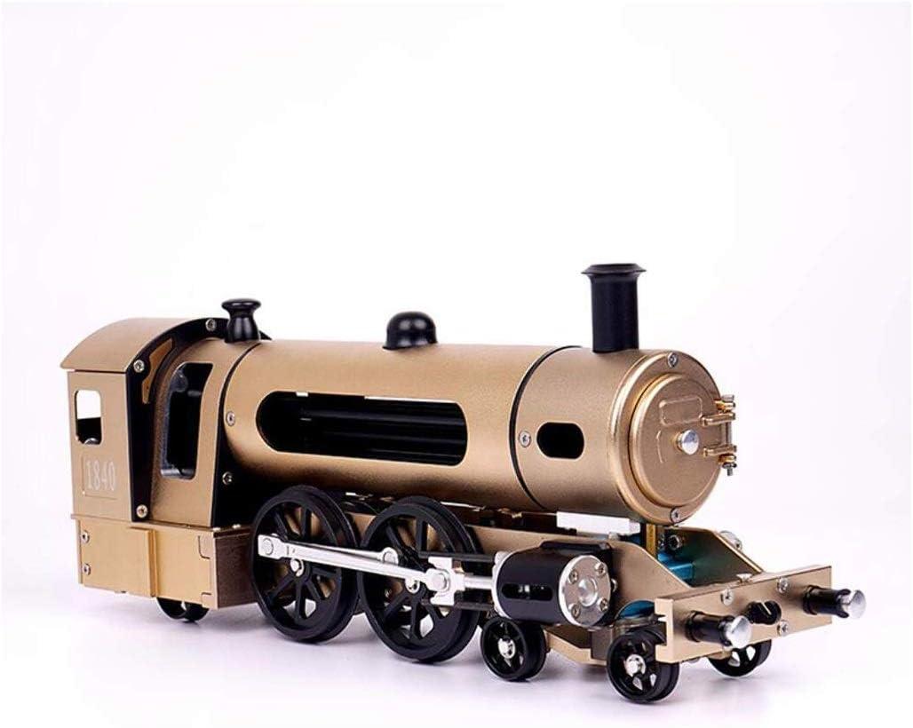 LMCLJJ Motor Plana DIY Modelo de la Asamblea Metal Modelo del Tren de Vapor