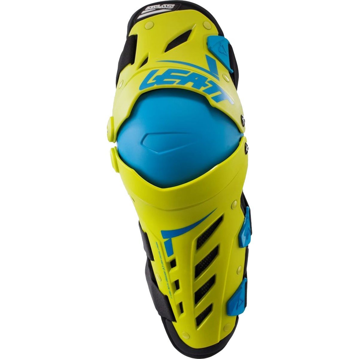 Leatt Lime Large/X-Large Knee & Shin Guard Dual Axis, Left and Right by Leatt Brace (Image #1)
