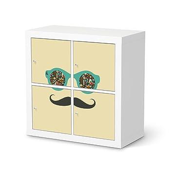 Creatisto Möbel Tattoo Für IKEA Kallax Regal 4 Türelemente | Folie Dekor  Möbel Aufkleber