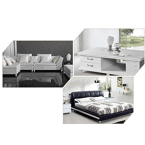 2 Unidades Pata de Sofa Equipo de Decoracion de Casa,Oficina Con 4 Orificios 18 cm