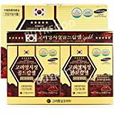 Korean Reishi Mushroom Extract Gold Capsules 830mg X 120Tablets (3.5oz), Red Ganoderma Mushroom / Longvity (Reishi Mushroom Tablets)