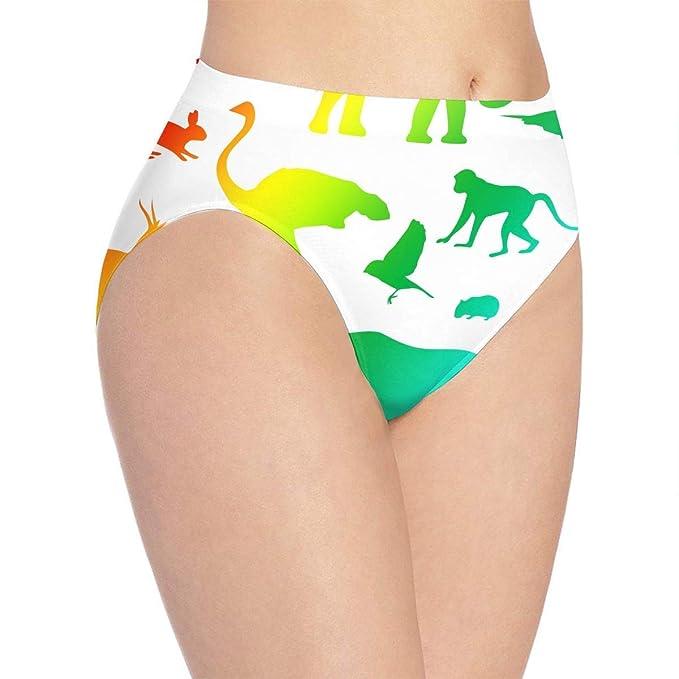 8a3a124dd693 Youth Girls Cute Sexy Animals Silhouette Women's Basics Cotton ...