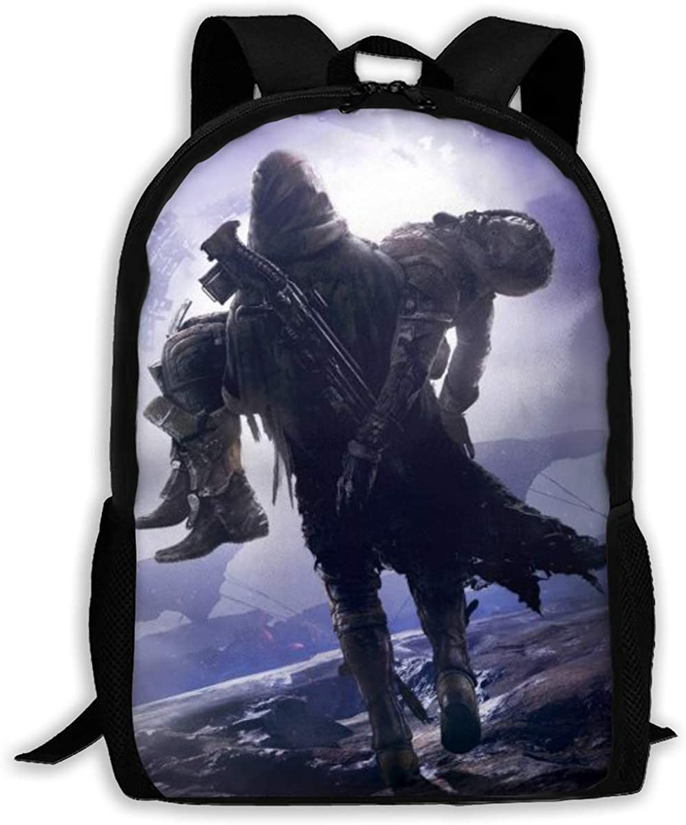 Destiny 2 Backpack School Bags Laptop Casual Bag Bookbag For Teen Boys Girls