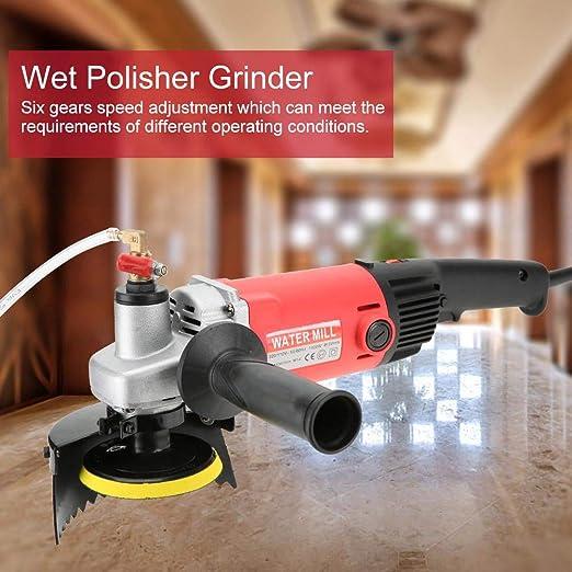 moulin /à eau 220V de broyeur /à main /à vitesse variable /électrique pour pierre 1400W 220V Broyeur de polisseur humide