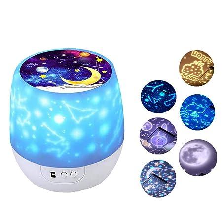 ZZYYZZ Proyector Star Lights para niños, Proyector Star con ...