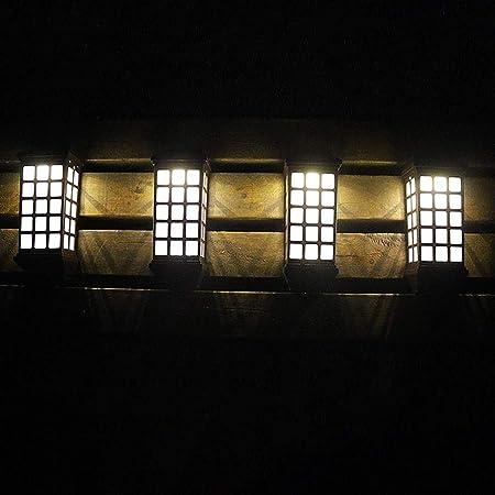 FBGood - 2 Caminos solares LED para encender, paisajes, para Exterior, LED, para jardín, casa, Patio: Amazon.es: Hogar
